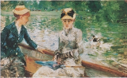 Summer's Day (The Lake in the Bois de Boulogne)