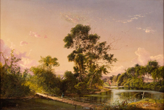Sunset on the Unadilla River