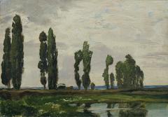 """Táborsko (aus der Mappe """"16 Ansichten tschechischer Landschaften 'Česka Krajiná'"""")"""
