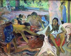 Tahitian Fisherwomen