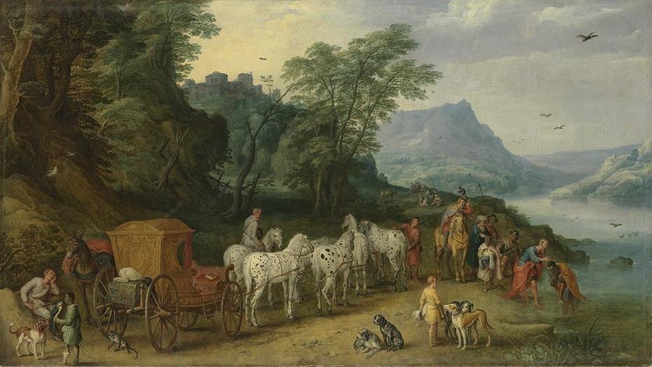Taufe des Mohrenkämmerers und Jan Brueghel d. J.