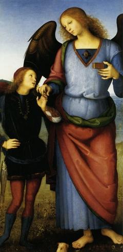 The Archangel Raphael with Tobias