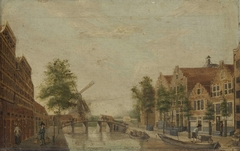 The Brouwersgracht in Amsterdam