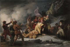 The Death of General Montgomery in the Attack on Quebec,  December 31,1775