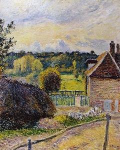 The Delafolie House, Éragny, Sunset