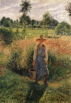The Gardener, Afternoon, Sun, Éragny