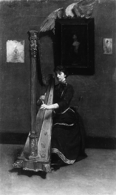 The Harp Player (A Solo)