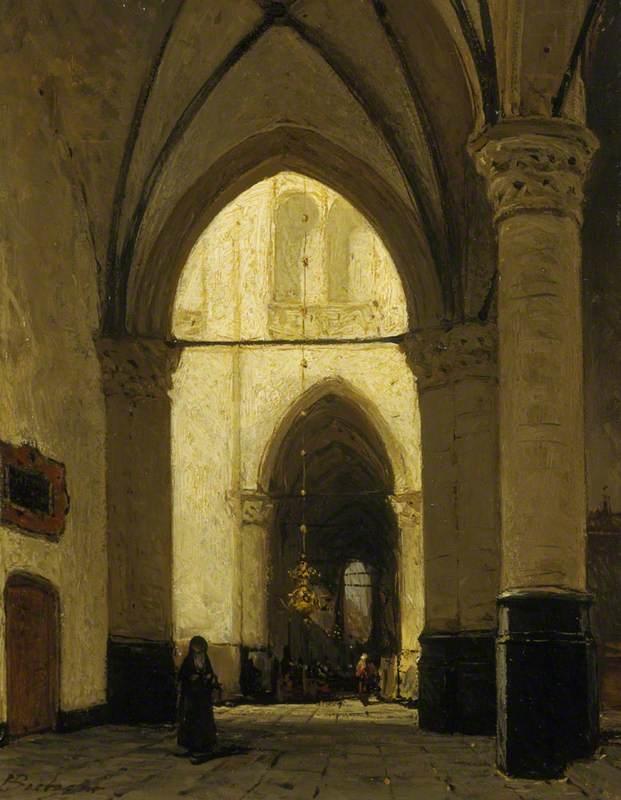 The Interior of Alkmaar Church