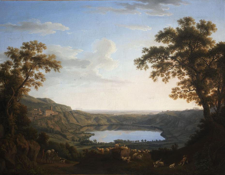 The Lake of Nemi