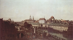 The Old Fortifications in Dresden