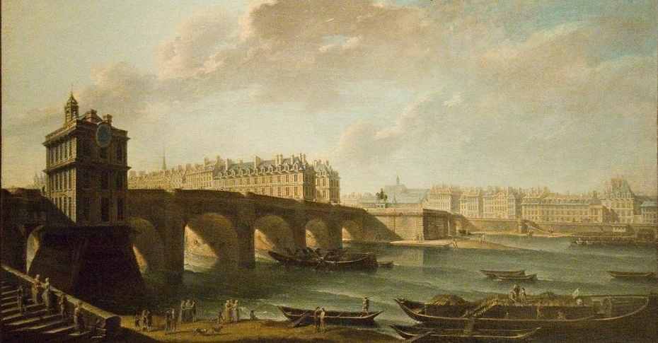 The Pont Neuf and the Samaritaine