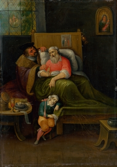 The Visitation of the Sick from the Seven Acts of Mercy