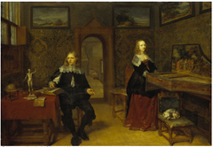 The Young Scholar And His Wife