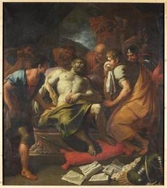 Tod des Cato von Uttica