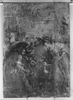 Tomyris mit dem Haupte des Cyrus (zugeschrieben)