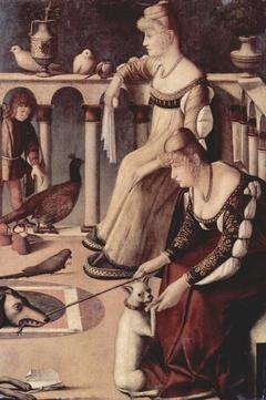 Two Venetian Ladies