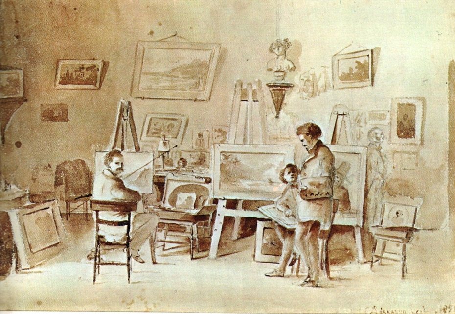 Estudio del Artista en Saint Thomas
