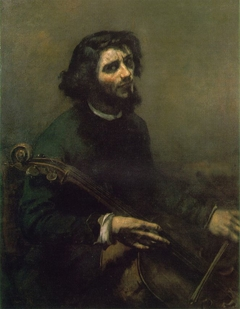 The Cellist, Self-Portrait