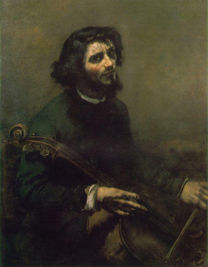 The Cellist, Self-Portrait