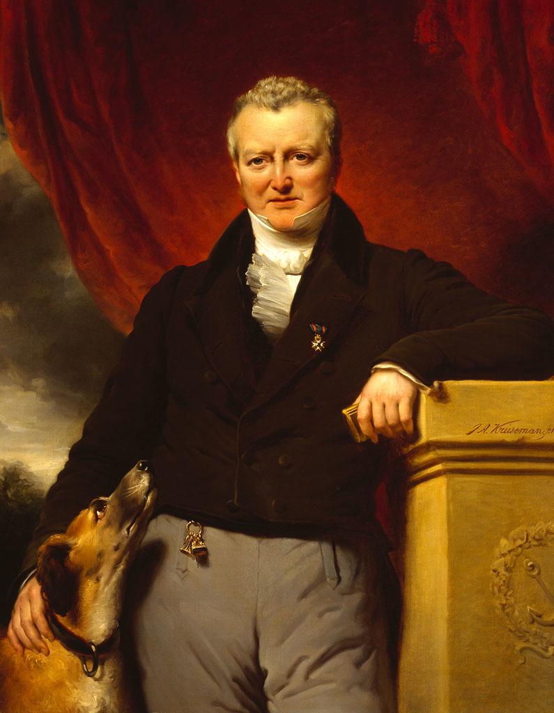 Portrait of Adriaan van der Hoop
