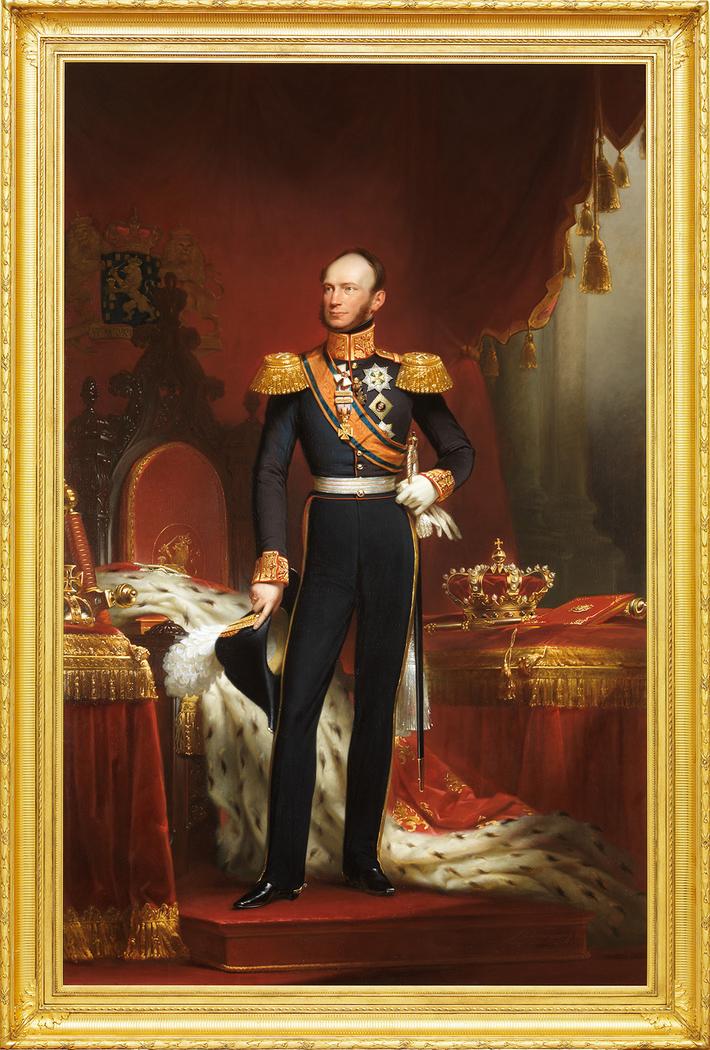 Willem II (1792-1849), Koning der Nederlanden