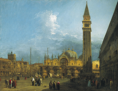 Venice: Piazza San Marco with the Basilica and Campanile