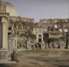 View of the Interior of the Colosseum