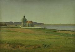 Vinderød Church near Frederiksværk