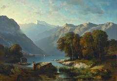 Vue du Lac de Genève