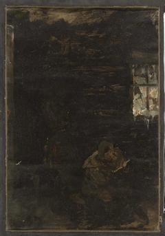 Woman indoors