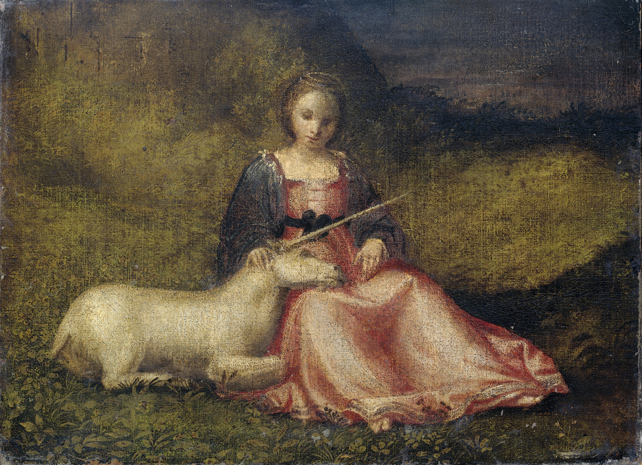 Woman with a Unicorn