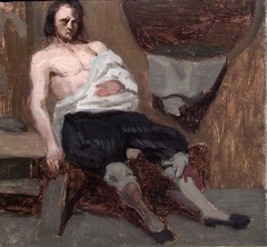 Wounded Man. Study for Fight in an old Farm House