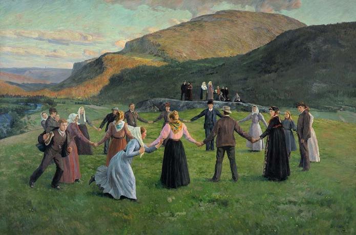 Youth Festivity in Eggedal