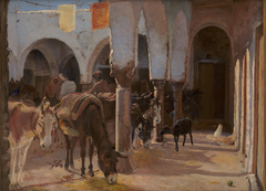 A Donkey House in Tunis