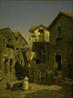 A Street in Gerano
