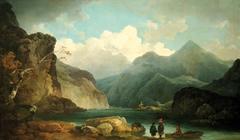 A View of Llanberis Lake
