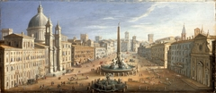 A View of the Piazza Navona, Rome