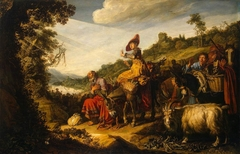 Abraham on the Road to Canaan