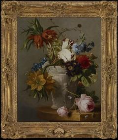 An Arrangement with Flowers