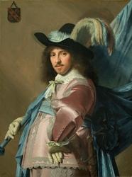 Andries Stilte as a Standard Bearer