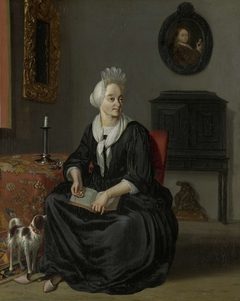 Anna de Hooghe (1645-1717). The Painter's fourth Wife