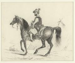 Arabier te paard