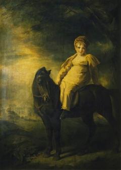 Archibald Montgomerie, later 13th Earl of Eglinton PC, KT (1812-1861), as a boy on horseback