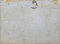 Beethoven Frieze (plate 1, left wall): Yearning for Happiness
