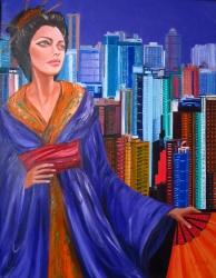 Blue Eyed Geisha in Hong Kong