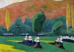 Breton Women Attending a Pardon