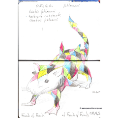 Carnet Bleu: Encyclopedia of…shark, vol.XIV p22 - by Pascal