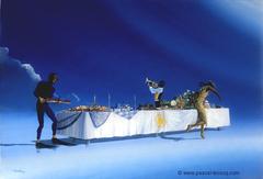 CELEBRATION DES CINQ SENS - Celebration of the five senses - by Pascal
