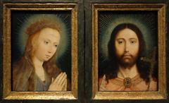 Christ Salvator Mundi and Mary at Prayer