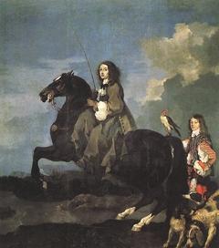 Christine of Sweden on Horseback